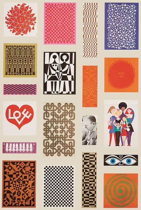 1972 Poster Promoting Herman Miller's Environmental Enrichment Panels