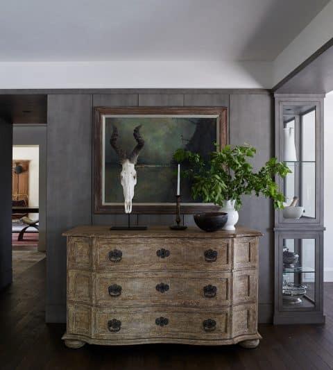 Dresser in a Thruway in a Michael Del Piero–designed residence in Fond du Lac, Wisconsin