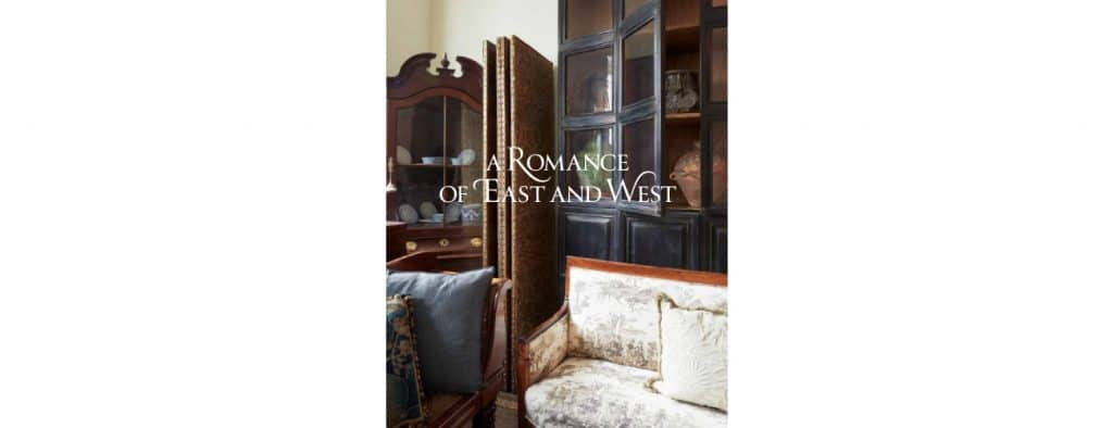 Book cover of A Romance of East and West, by Mona Hajj