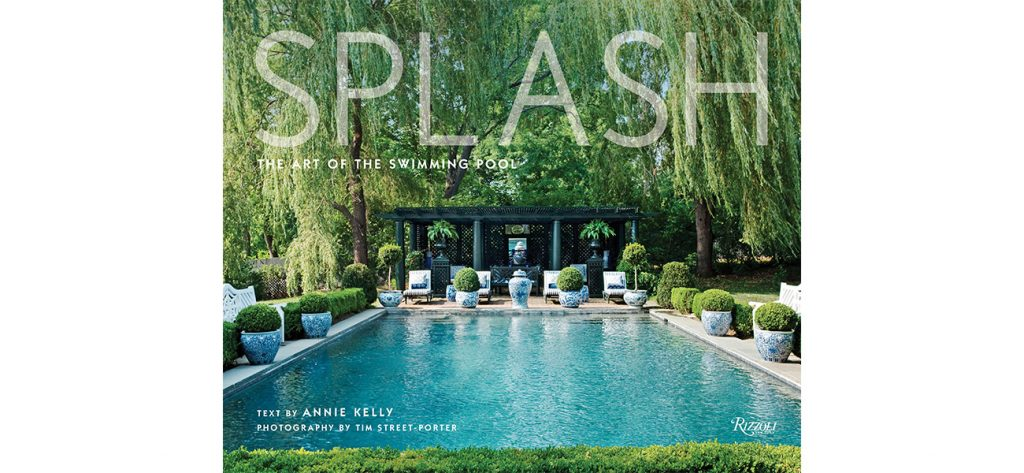 The cover of the book Splash: The Art of the Swimming Pool