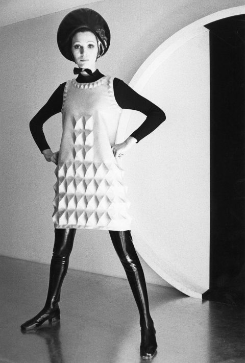 The Cardine dress, shot in 1968