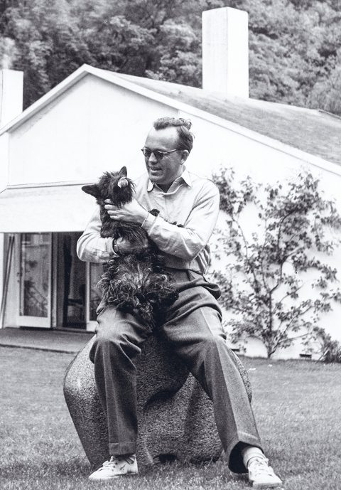 Vintage portrait of Finn Juhl