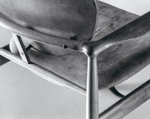 Detail of Juhl's 48 chair