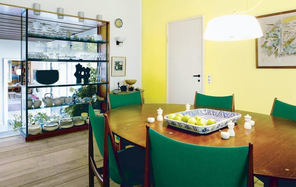 Dining room of Finn Juhl's home