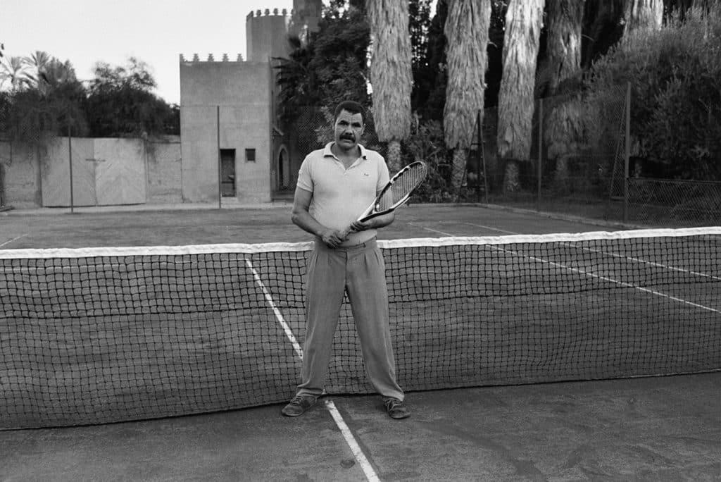 Stephan Würth photo of a man on a tennis court