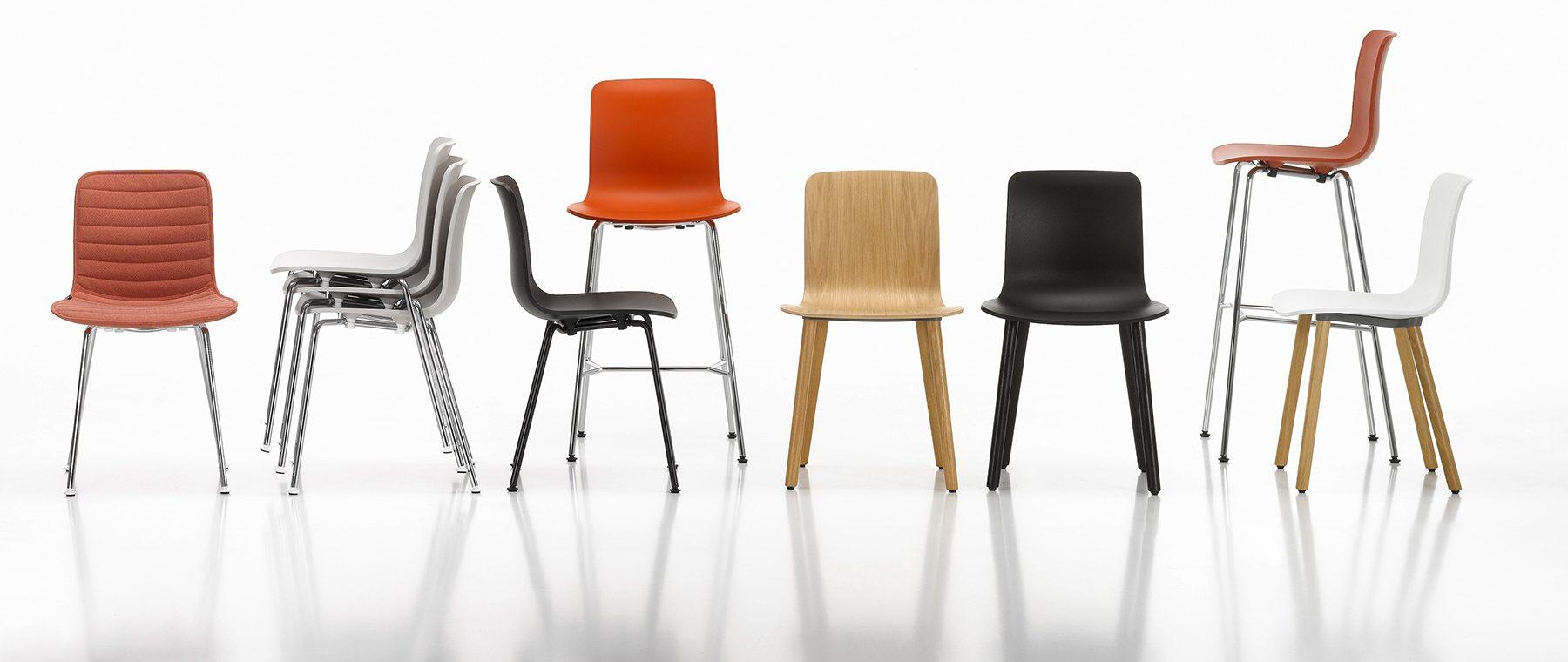 Jasper Morrison Vitra chairs