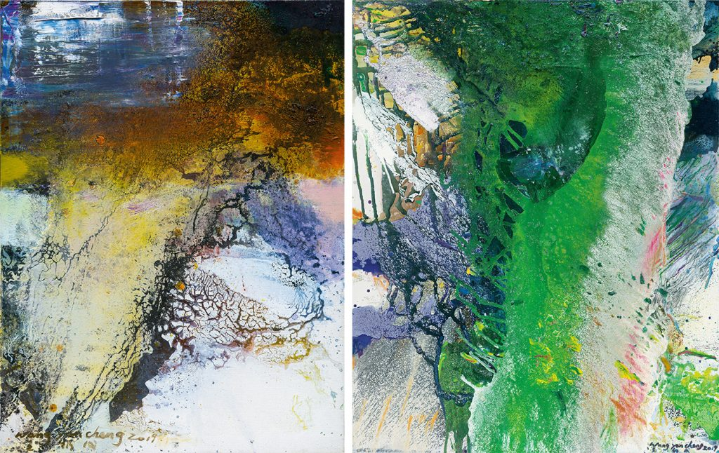 Wang Yan Cheng Untitled (W10) Untitled (W4) Acquavella Galleries